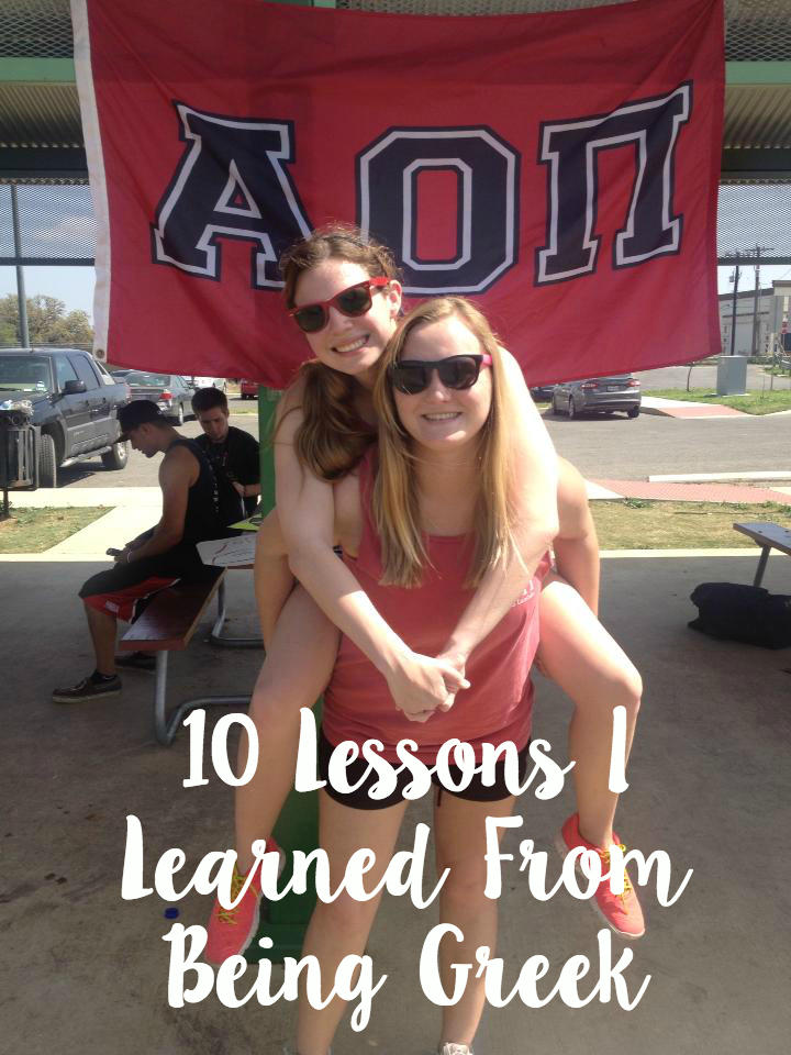 10 Lessons I Learned from Being Greek