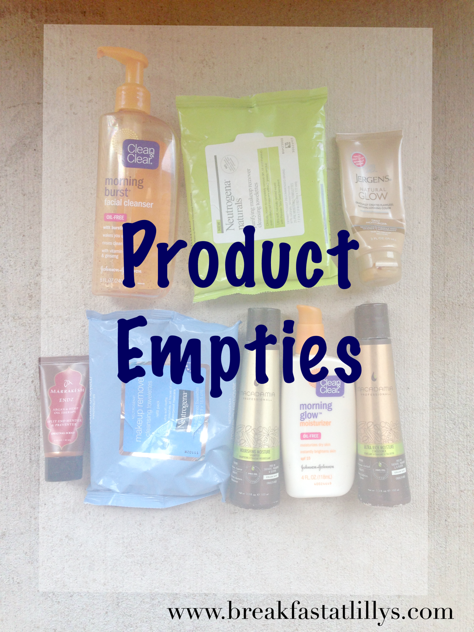 Product Empties