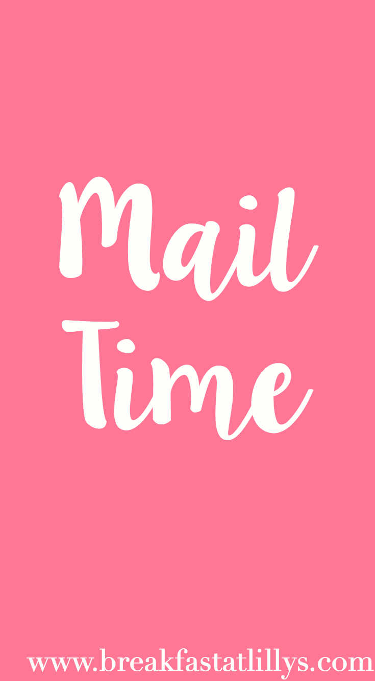 Life Update + Mail Time