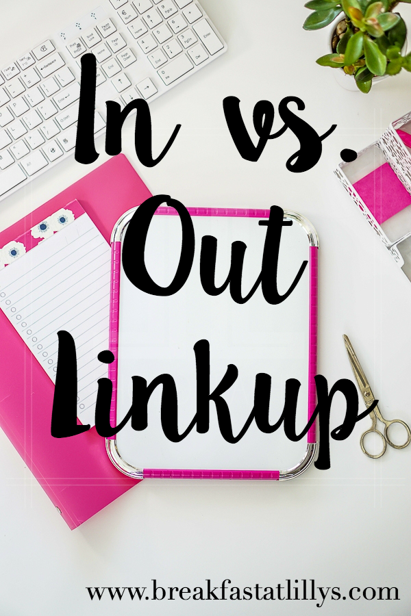 In vs. Out Link-up | March 2016
