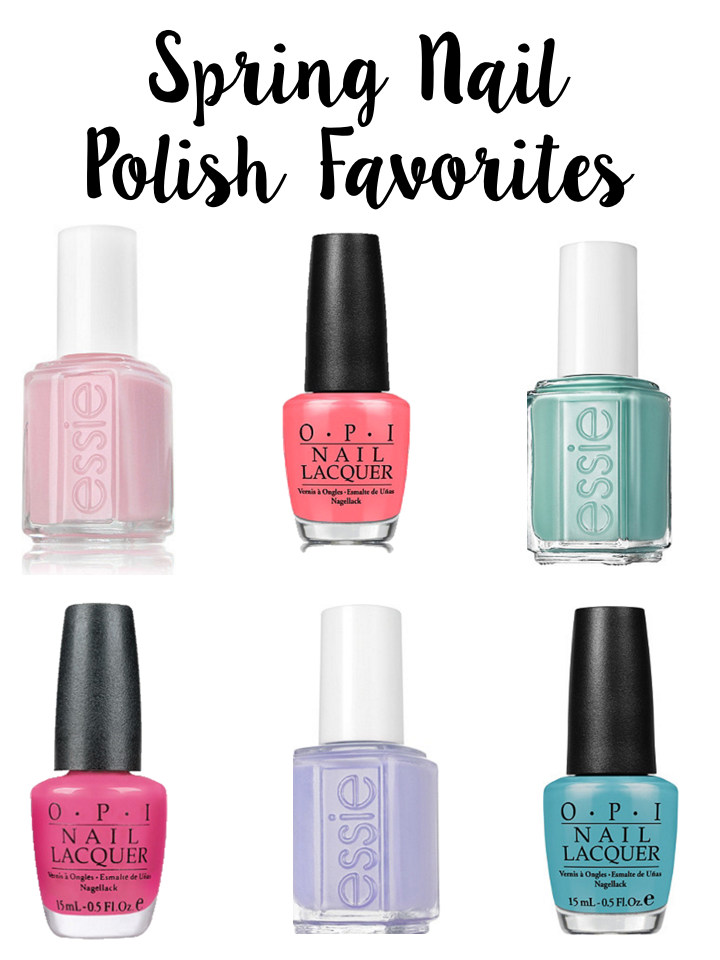 Spring Nail Polish Favorites