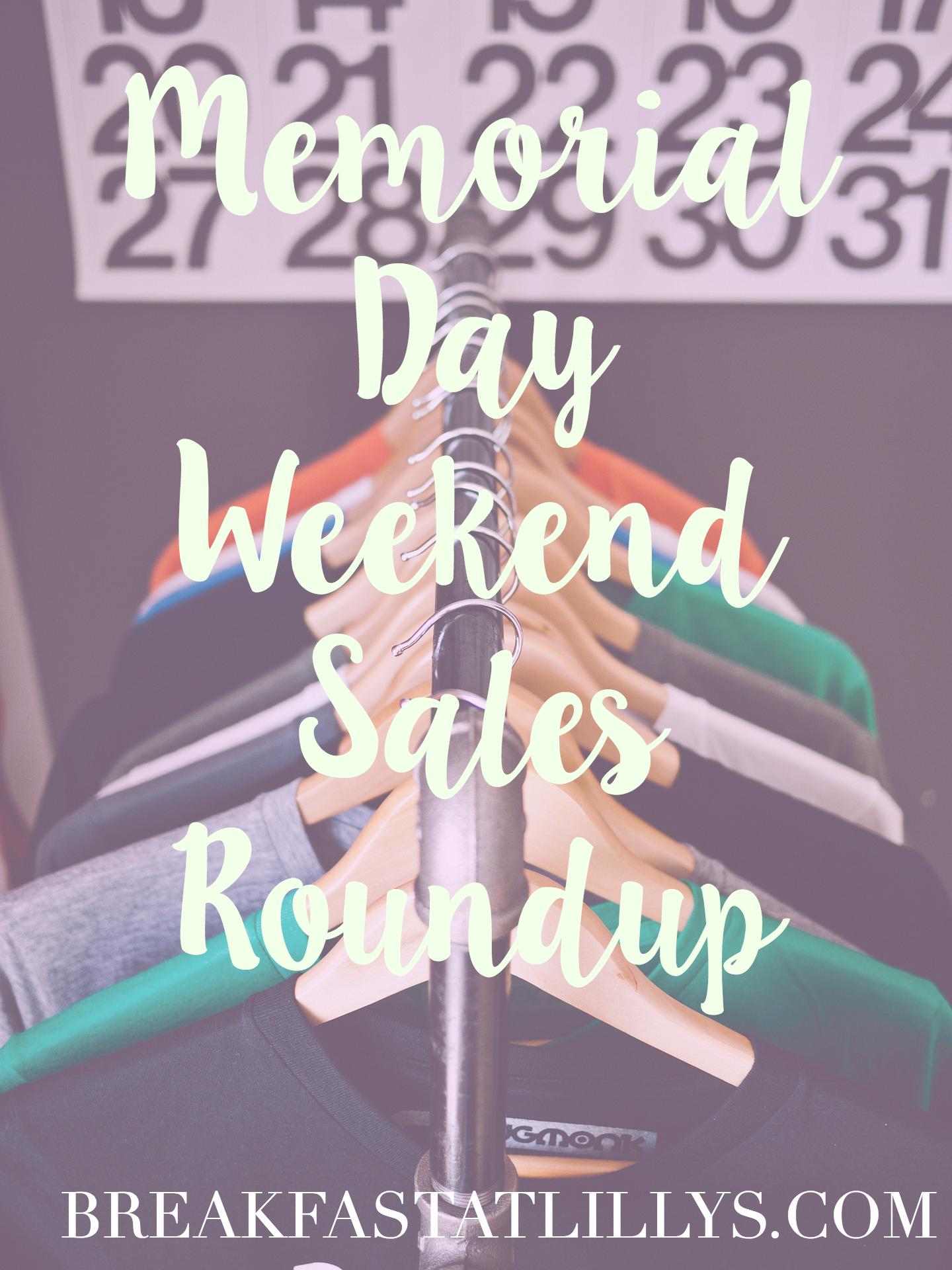 Memorial Day Weekend Sales Roundup