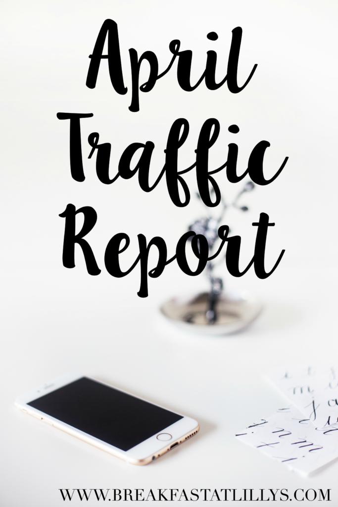 April Traffic Report