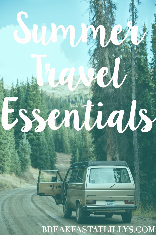 Summer Travel Essentials