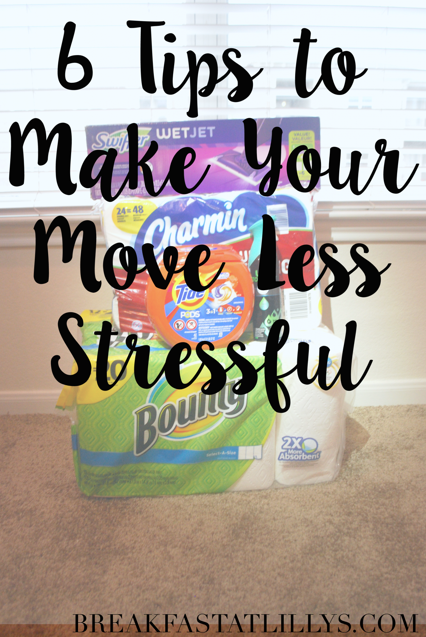 6 Tips to Make Your Move Less Stressful