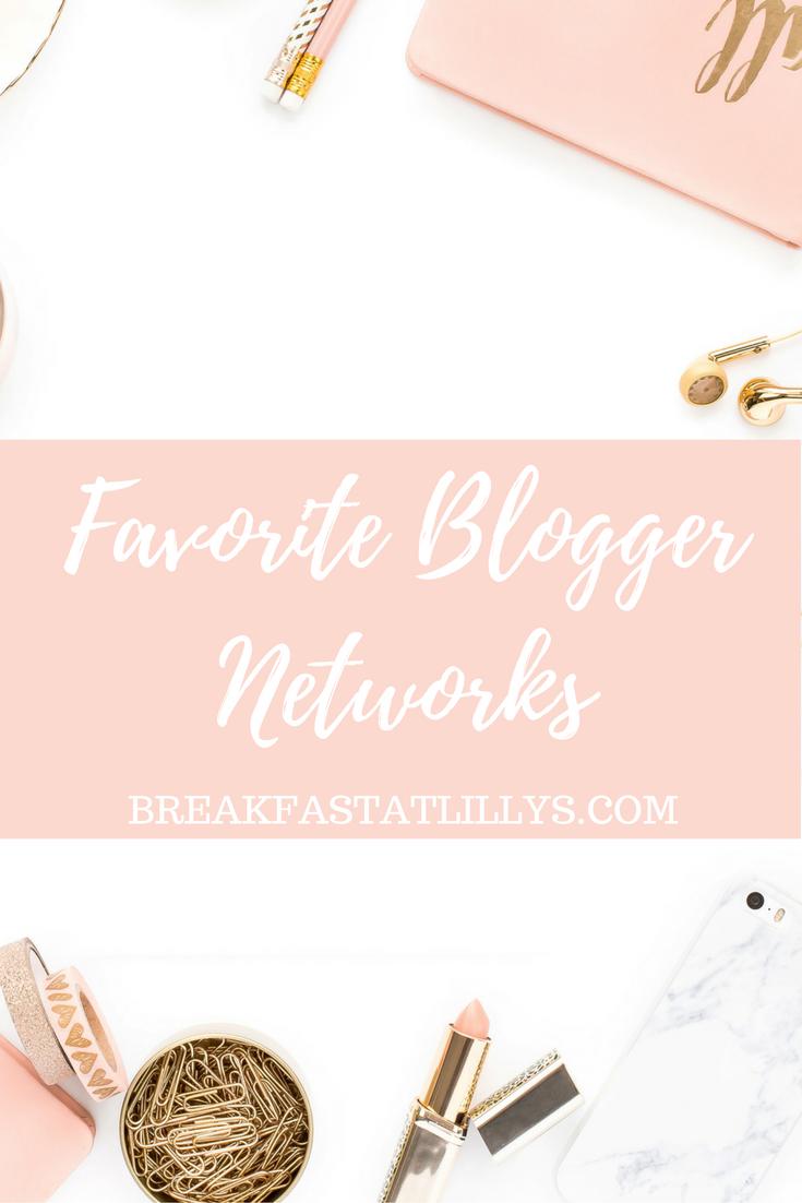 Favorite Blogger Networks
