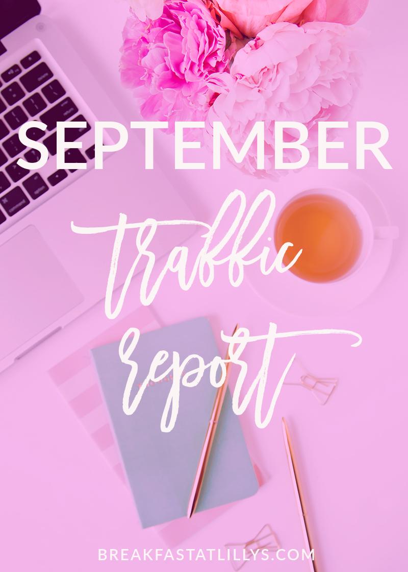 September Traffic Report 2017