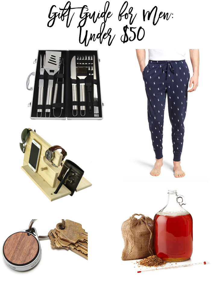 Gift Guide For Men: Under $50 and Under $100