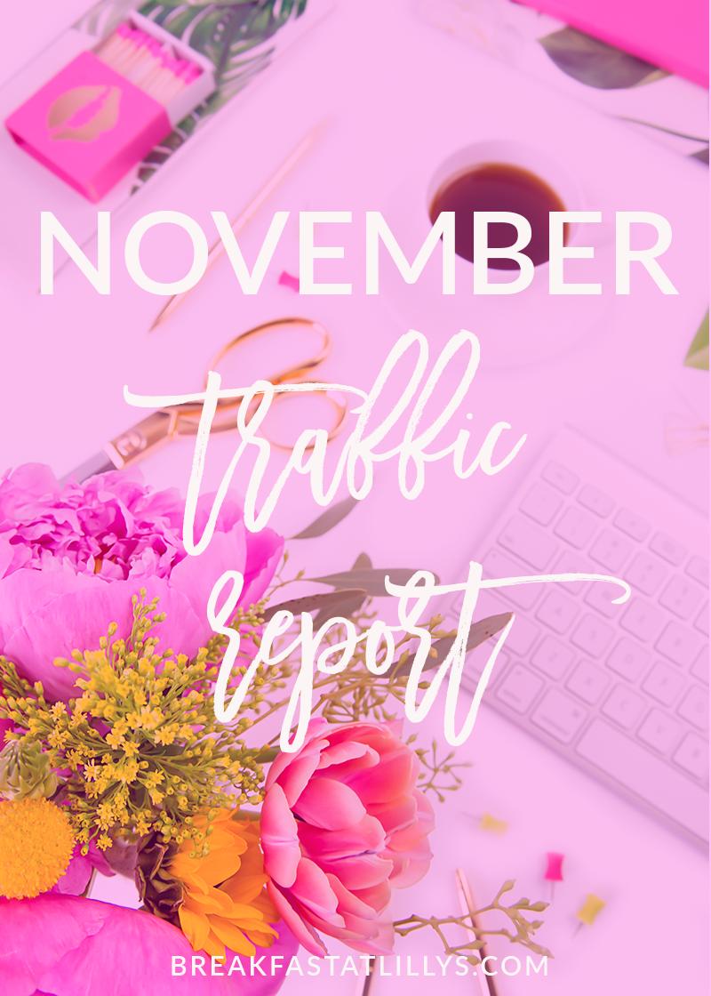 November Traffic Report 2017