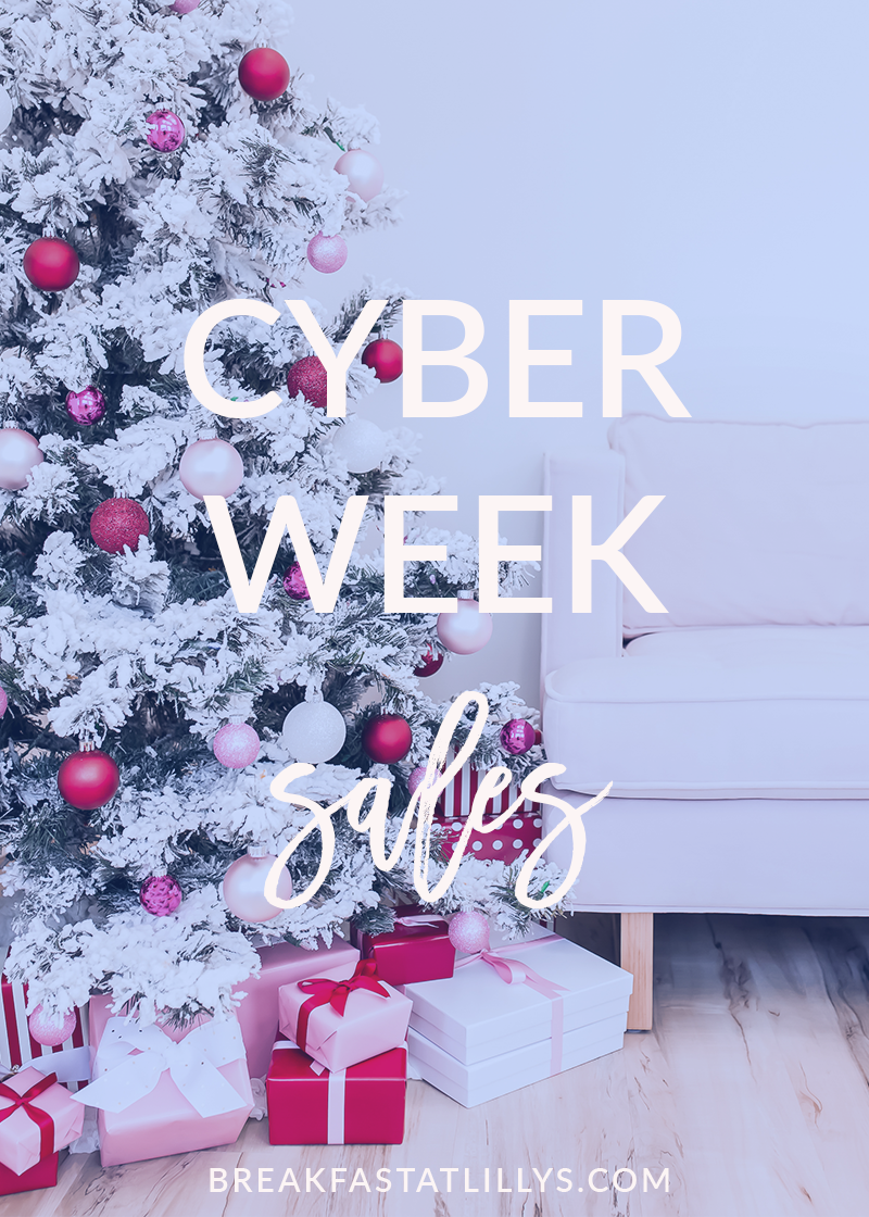 The Best Cyber Week Sales