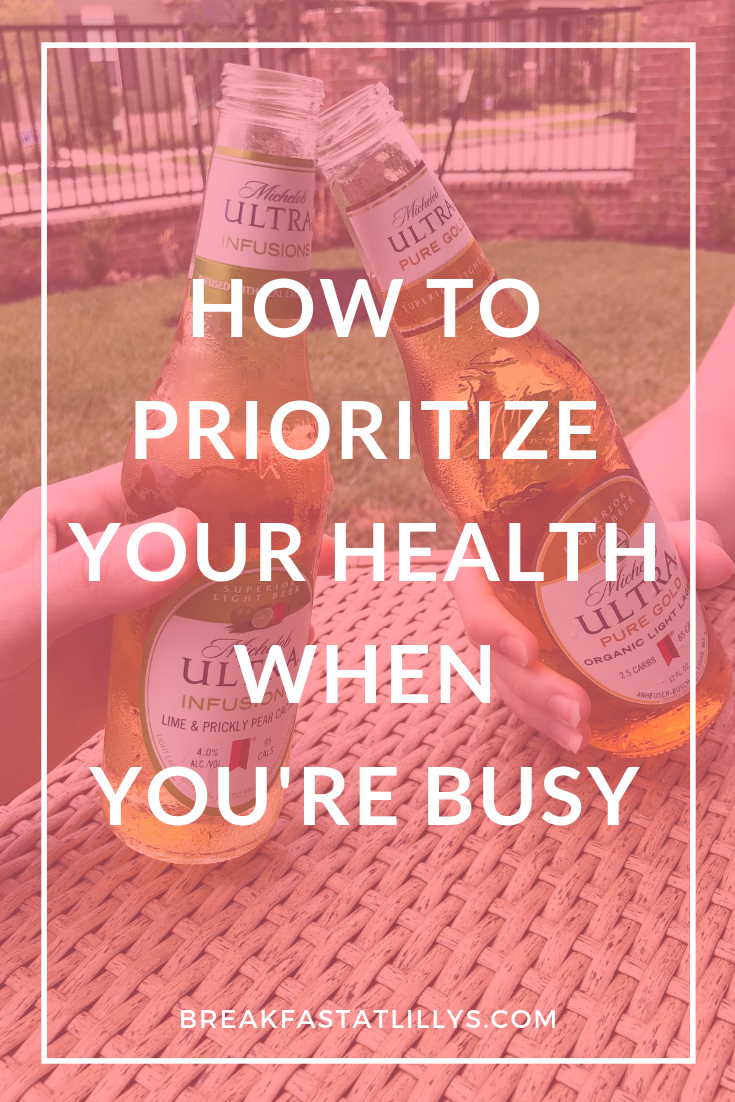 How Prioritize Staying Active When You're Busy